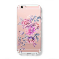 Pastel Flower iPhone 6 Case, iPhone 6s Plus Case, Galaxy S6 Edge Case C072