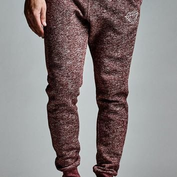 Diamond Supply Co - Garnet Speckle Fleece Jogger Pants - Mens Pants
