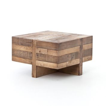 Bellona Reclaimed Wood Side Table