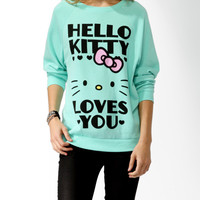 Hello Kitty® Loves You Pullover