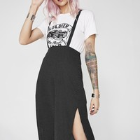 Don't Bother Me Overall Skirt