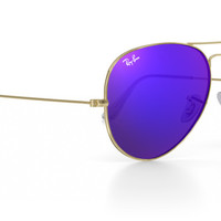 Customize Ray-Ban RB3025 Aviator Large Metal Sunglasses | Ray-Ban Canada