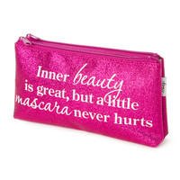 Inner Beauty is Great Cosmetic Bag