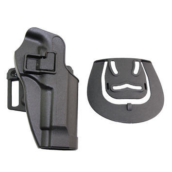 Hunting Gun Accessories Tactical Pistol Right Hand Belt Gun Holster Beretta M9 M92 96 Black Polymer