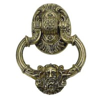 Brass Accents A04-K5060-620 Neptune Pewter Door Knocker - (In Pewter)