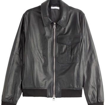 J.W. Anderson - Leather Bomber Jacket
