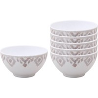 Better Homes and Gardens 6pk Ikat Berry Bowl, Gray - Walmart.com