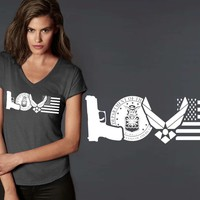 Air Force Love T-shirt