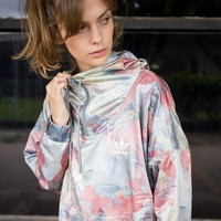 Adidas Originals Women Camouflage Windbreaker Jacket