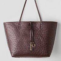 KENT OSTRICH REVERSIBLE TOTE