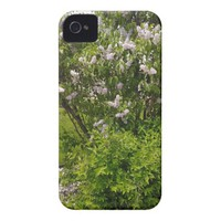 Pretty Little Lilacs iPhone 4 Cover