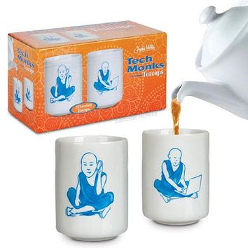 Tech Monks Porcelain Teacups Set