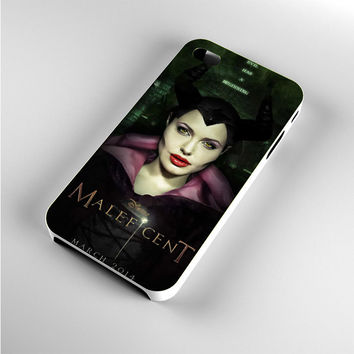 Angelina Jolie Disney Maleficent Poster iPhone 4s Case