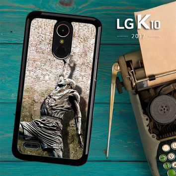 Michael Jordan Slam Dunk Carbonite V0979 LG K10 2017 / LG K20 Plus / LG Harmony Case