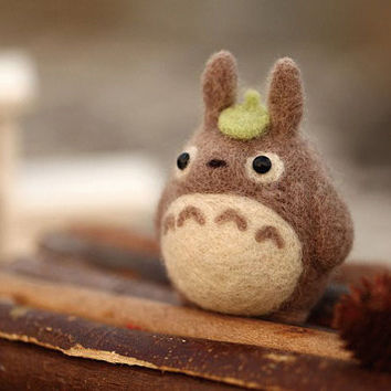 DIY Kit - My Neighbor Totoro Needle Felting Kit -Craft Kit