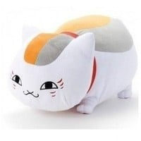 "8""Anime Natsume's Book of Friends Nyanko Sensei Yuujinchou Cat Plush Toy Dolls"