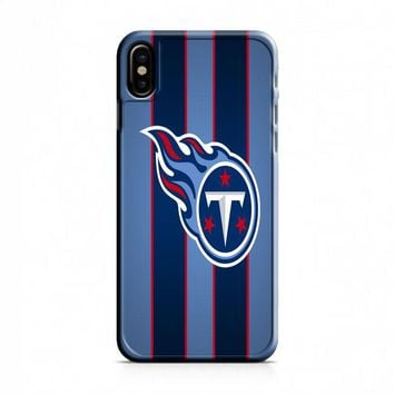 logo of tennessee titans iPhone X Case
