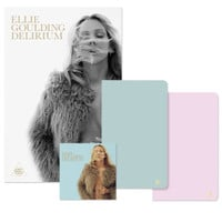"DELIRIUM DELUXE ALBUM + 12"" X 18"" ART PRINT + ON MY MIND NOTEBOOKS"
