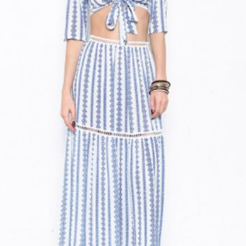 Antigua Maxi Skirt Set