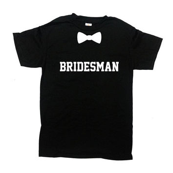 Bridesman Shirt Man Of Honor Shirt Wedding T Shirt Bridal Party Gift Wedding Party Shirts Bridesman Gift Man Of Honor Gift Mens Tee - SA1140