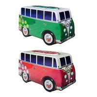 Surfer Van Storage Tin - Green