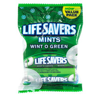 Bulk Life Savers in Wint O Green flavor, 3-Roll Packs at DollarTree.com