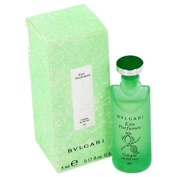 Bvlgari Eau Parfumee (green Tea) By Bvlgari Mini Edc .17 Oz