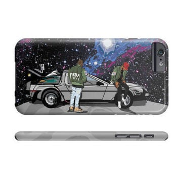 Kanye West Kid Cudi Yeezy Yeezus Tour Apple IPhone 4 5 5c 6 6s Plus Galaxy Note Case Man on the Moon