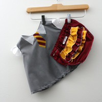 Hogwarts Gryffindor Student Costume - Swing Set - Shirt and Diaper Cover