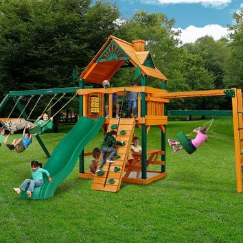 Playnation Dogwood Wooden Swing Set