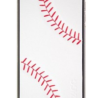 Zagg FGLSWHTBAS73 sportLEATHER Protective Skin for iPhone 4 & 4S - 1 Pack -Decal- Retail Packaging - Baseball