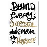 Successful Woman Canvas Print, Oliver Gal