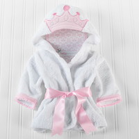 Baby Aspen BA14028NA little Princess Hooded Spa Robe