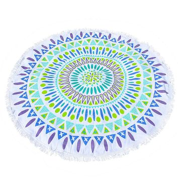 Round Beach Blanket Magic