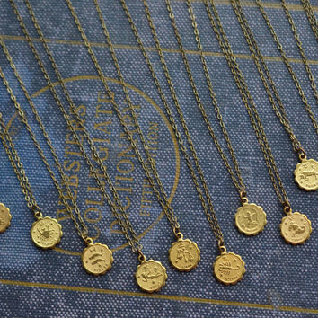 Dainty Zodiac Necklace