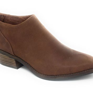 Lucky Brand Fai Toffee Antik Grease Leather Booties