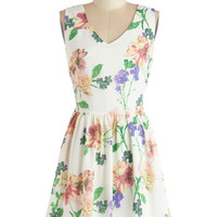 Jack by BB Dakota Mid-length Sleeveless A-line I Ladylike It Like That Dress