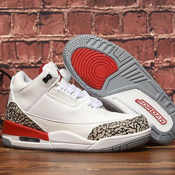 Air Jordan 3 Retro Katrina Hall of Fame Toddler Kid Shoes Child Sneakers - Best Deal Online