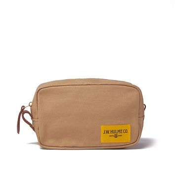 J.W. Hulme - Heritage Heritage Tan Canvas Dopp Kit