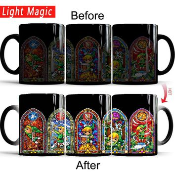 Zelda Heat Sensitive Magic Mugs