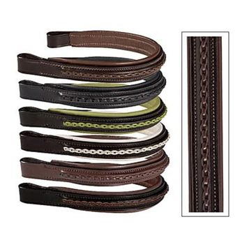 Crown Leather Overlay Browband | Dover Saddlery
