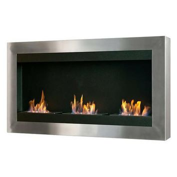 "Ignis Magnum - 44"" Wall Mounted Ethanol Fireplace (WMF-010)"