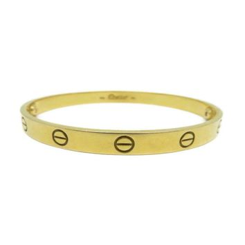 Cartier Love Bracelet Bangle 18K Yellow Gold 5257