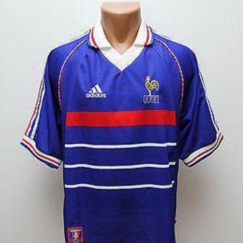 1998 France World Cup Men Soccer Jersey Personalized Name and Number