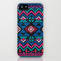 Aztec Forever iPhone & iPod Case by Demi Goutte