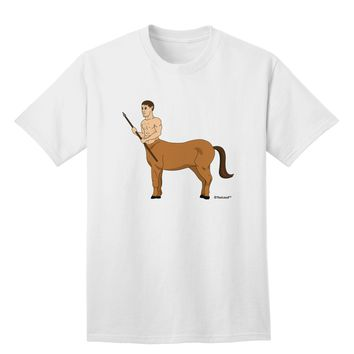 Greek Mythology Centaur Design - Color Adult T-Shirt by TooLoud