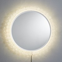 Crystal Backlit Mirror