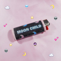 MOON CHILD Bic Lighter Case