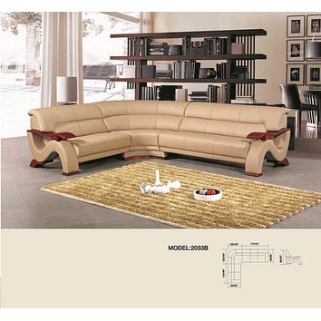 Luxury Jasper 6 Seater Modular Sectional Sofa.