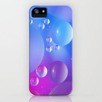 water Beads iPhone Case by Tanja Riedel